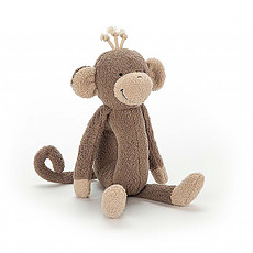 Achat Peluche Peluche Hochet Rattlering Monkey 22 cm