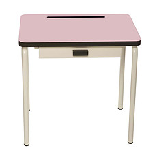 Achat Table & Chaise Bureau Régine - Rose Poudré