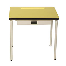 Achat Table & Chaise Bureau Régine - Jaune Citron