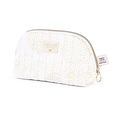 Achat Trousse Trousse de Toilette Holiday - Gold Bubble / White