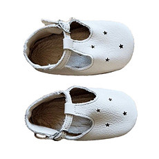 Achat Chaussons & Chaussures Sandales Etoiles Coquilles - Blanc