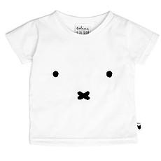 Achat Haut bébé T-Shirt Miffy Face - Blanc