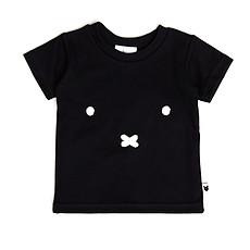 Achat Haut bébé T-Shirt Miffy Face - Noir - 6/12 Mois