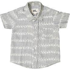 Achat Vêtement layette Chemise à Rayures - Blue Cloud Ikat