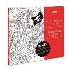 Achat Mes premiers jouets Poster à Colorier - Pirates