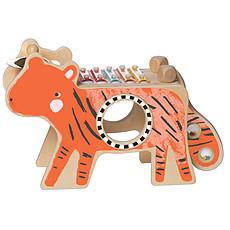 Achat Mes premiers jouets Tigre Musical en Bois