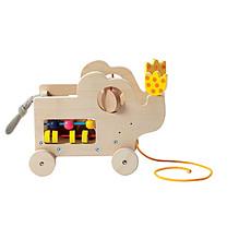 Achat Mes premiers jouets Eléphant à Tirer & Aire d'Activités - Naturel