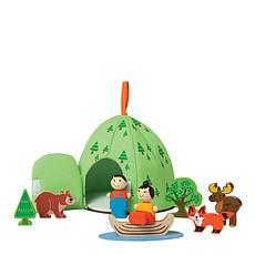 Achat Mes premiers jouets Jouet en Bois Aventure en Forêt