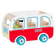 """Achat Mes premiers jouets Bus en Bois """"La Grande Famille"""""""