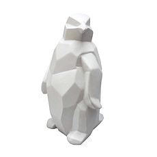 Achat Lampe à poser Lampe Pingouin Blanc - 12.5 x 23.5 cm