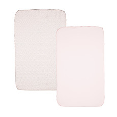 Achat Linge de lit Lot de 2 draps housse Next 2 Me - Miss Pink