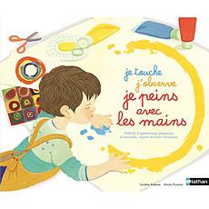 Achat Livre & Carte Je touche, j'observe, je peins avec les mains