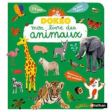 Achat Livre & Carte Dokéo - Mon livre des animaux