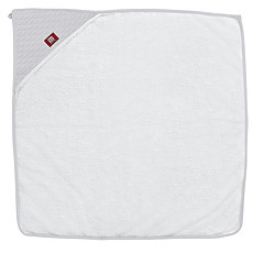 Achat Linge & Sortie de bain Sortie de Bain Fleur de Coton 100x100 cm - Blanc / Gris Perle