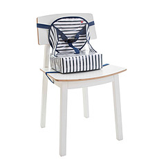 Achat Chaise haute Rehausseur Easy Up - Blue Stripes