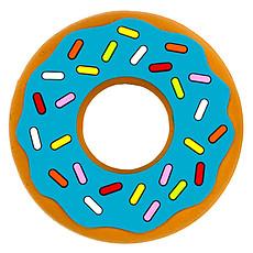 Achat Anneau de dentition Jouet de Dentition Donut - Bleu