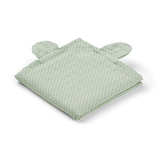 "Achat Lange Lot de 2 Langes Hannah ""Mr Bear"" - Little Dot / Dusty Mint - 70 x 70 cm"