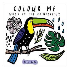 Achat Livre & Carte Livre de Bain Colour Me - Rainforest