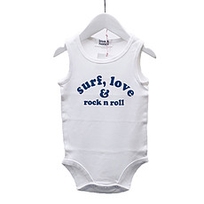 Achat Body & Pyjama Body Surf Love & Rock n Roll White Horizon