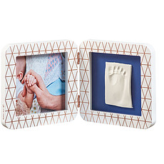 """Achat Empreinte & Moulage Kit d'Empreintes """"My Baby Touch"""" - 2 Volets - Blanc / Bronze"""