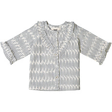 Achat Vêtement layette Top Vanessa - Blue Cloud Ikat