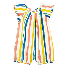 Achat Robe & Combinaison Barboteuse Leopold - Multico Stripes - 9/12 Mois