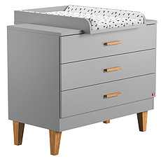 Achat Commode Commode + Plan à langer Lounge - Gris