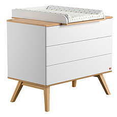 Achat Commode Commode + Plan à langer Nature - Blanc