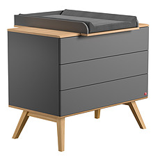 Achat Commode Commode + Plan à langer Nature - Gris