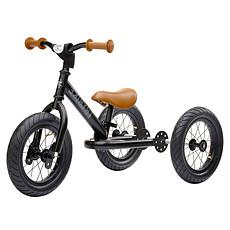 Achat Trotteur & Porteur Trybike 2 en 1- Châssis Noir et Roues Noires