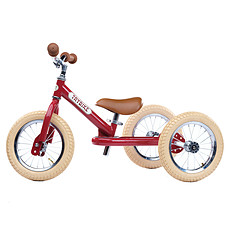 Achat Trotteur & Porteur Trybike 2 en 1- Châssis Rouge et Roues Beiges