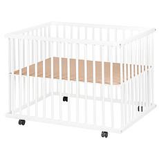 Achat Meuble bébé Parc Bébé Aline Réglable - Blanc