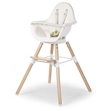 Achat Chaise haute Chaise Haute Evolu One.80° - Naturel / Blanc