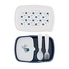 Achat Vaisselle & Couvert Lunch Box Super Héro 4 Pièces Bleue