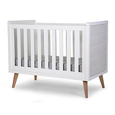 Achat Lit bébé Lit Bébé 60x120 cm - Retro Rio - Blanc