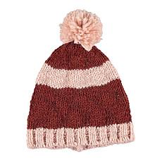 Achat Accessoires bébé Bonnet à Rayures - Rose