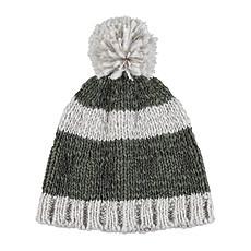 Achat Accessoires bébé Bonnet à Rayures - Gris