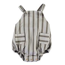 Achat Robe & combinaison Barboteuse à Rayures - Gris
