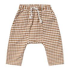 Achat Bas bébé Pantalon Vichy - Ivoire