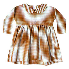 Achat Robe & Combinaison Robe Vichy Ivoire - 12/18 Mois