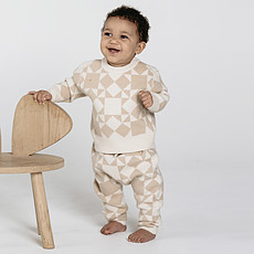 Achat Haut bébé Pullover Jacquard - Ivoire