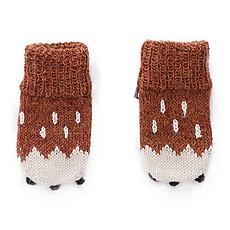Achat Vêtement layette Moufles Bambi - Marron