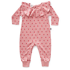 Achat Body & Pyjama Pyjama Cerises à Col Volant - Rose