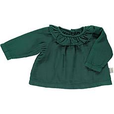 Achat Haut bébé Blouse Charme Col Volant Bistro Green - 6 Mois