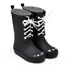 Achat Chaussons & Chaussures Bottes Kerran - Noir