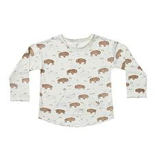 Achat Hauts bébé T-shirt Buffalo Ivoire - 12/18 Mois