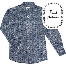 Achat Vêtement layette Chemise Garçon Blur Print