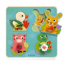 Achat Mes premiers jouets Croc-Carrot Puzzle Gros Boutons