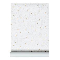 Achat Papier peint Papier Peint Contour - Or