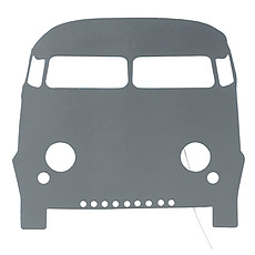 Achat Suspension  décorative Applique Car - Gris